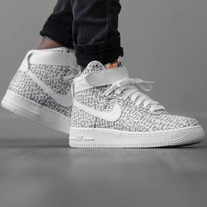 Nike Air Force 1 Just Do It Allover Logo